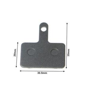 Placute de frana 35×30.5×20 mm