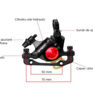 Etrier semi-hidraulic Zoom XTECH HB-100